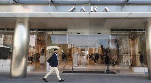Tienda de Zara en el Paseo de la Castellana (Madrid).