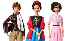 Amelia Earhart, Frida Kahlo y Katherine Johnson en su versión de la...