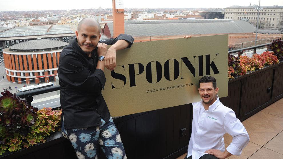 Jon Giraldo y Jaime Lieberman, los chefs de Spoonik, colombiano y...