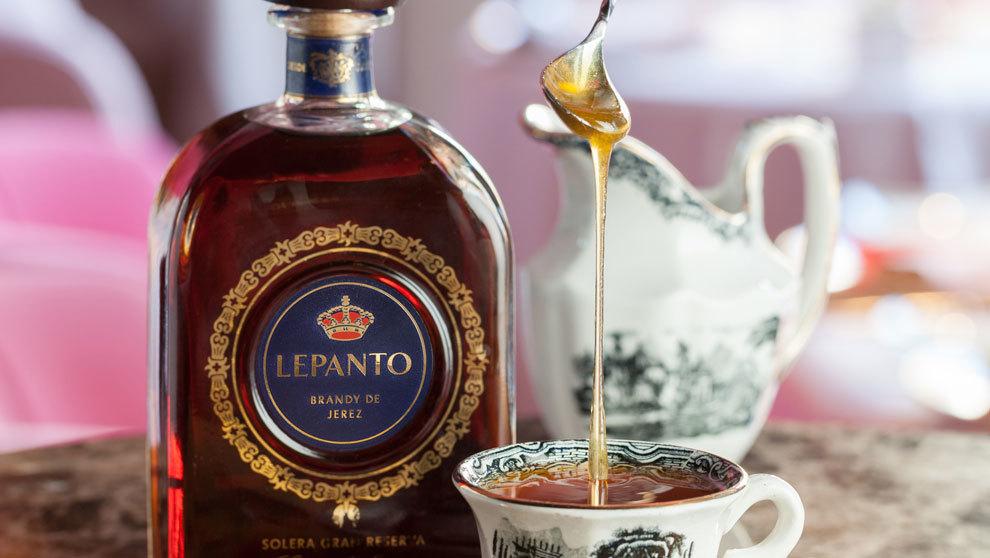 El brandy Lepanto es el único realizado íntegramente en Jerez. Lejos...