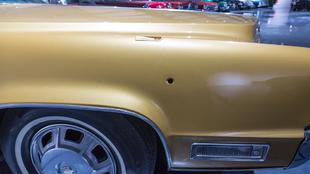 El Cadillac Fleetwood Eldorado Coupé de Elvis Presley.