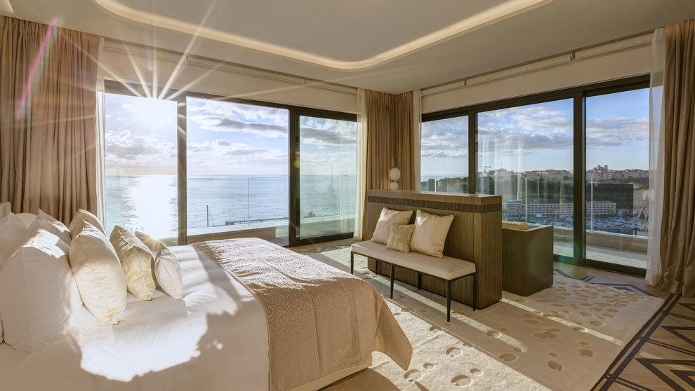 Suite en homenaje a Grace Kelly ubicada en el Hotel Paris de...