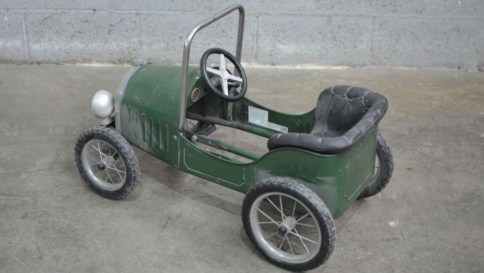 Estos vehículos clásicos no son sólo para niños, ya que...