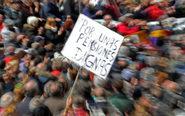 Manifestación por unas pensiones dignas en Madrid.