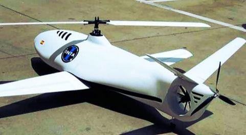 Dron utilizado en el programa UAV impulsado por la Xunta de Galicia.