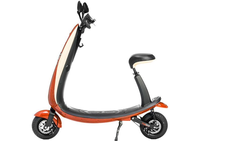 El patinete eléctrico OjO tiene un diseño a medio camino entre el...
