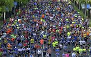 El medio maratón de Madrid se celebra el 8 de abril.
