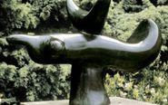 'Oiseau solaire', (1966). Bronce. Procedente de la Fundació...