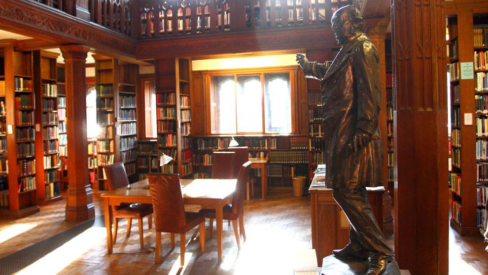 La Gladstone's Library de Hawarden, en Gales.