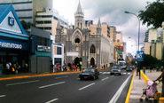 En la imagen, una céntrica calle de Caracas.