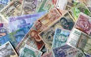 Billetes de diferentes países del mundo.