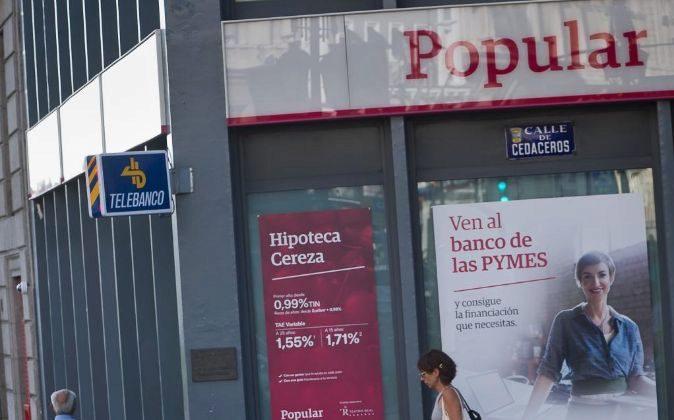 El juez andreu declara compleja la causa de banco popular for Oficina principal banco popular