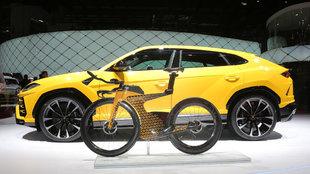 Lamborghini y la firma canadiense Cervélo han creado esta bicicleta...