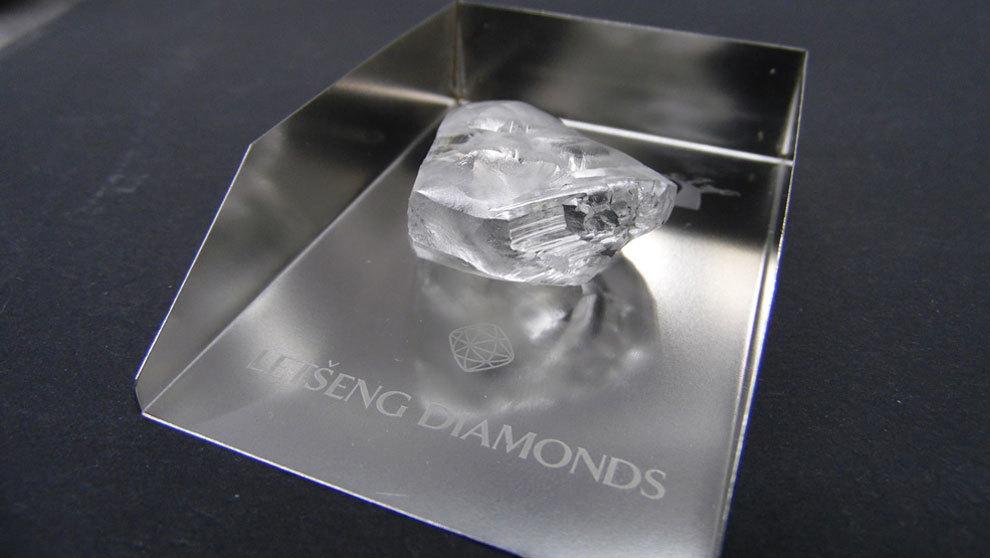En Lesoto se ha encontrado el quinto diamante más grande del mundo.