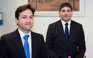 De izquierda a derecha, Ignacio Ferrer-Bonsoms y José Luis Sanjurjo.