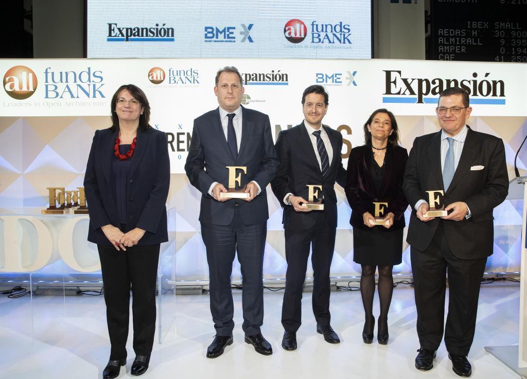 El premio a la Mejor Gestora de Renta Fija 2017 fue para Mutuactivos...