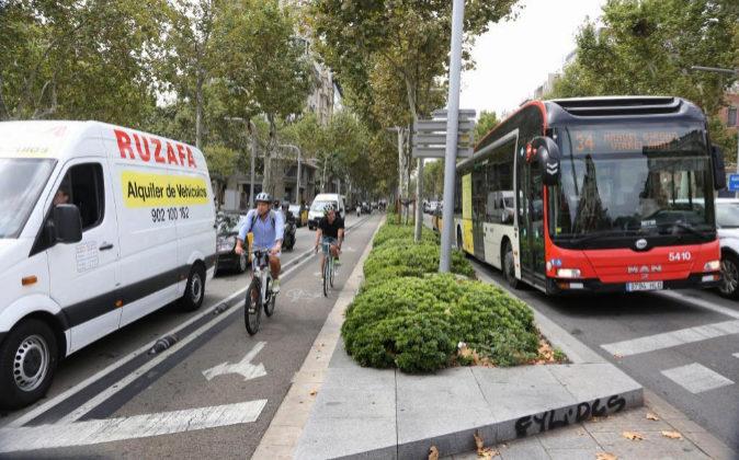 Sentencias: Condenan a un ciclista a indemnizar a un peatón al que atropelló en el carril bici