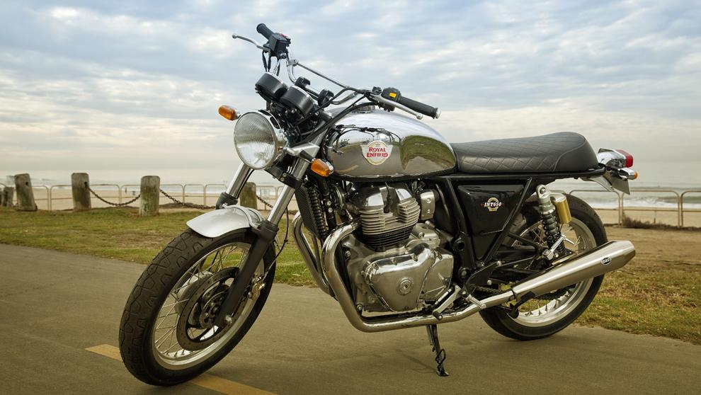 La Interceptor INT 650 fue una de las motos protagonistas del último...