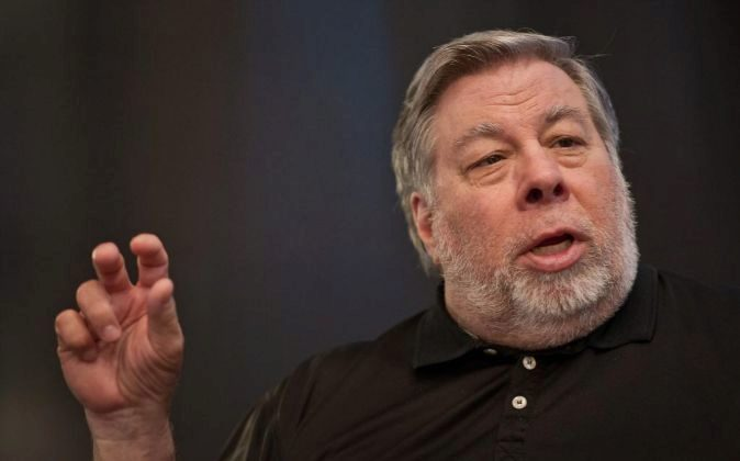 Steve Wozniak cofundador de Apple.
