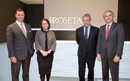 De izqda. a dcha., Álvaro Roquette, nuevo socio de Broseta Abogados;...