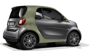 Smart fortwo electric edición Pull&Bear.