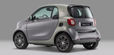 Smart fortwo electric edición Pull&Bear