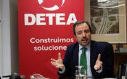 Arturo Coloma, presidente de Detea, en la sede de la compañía.