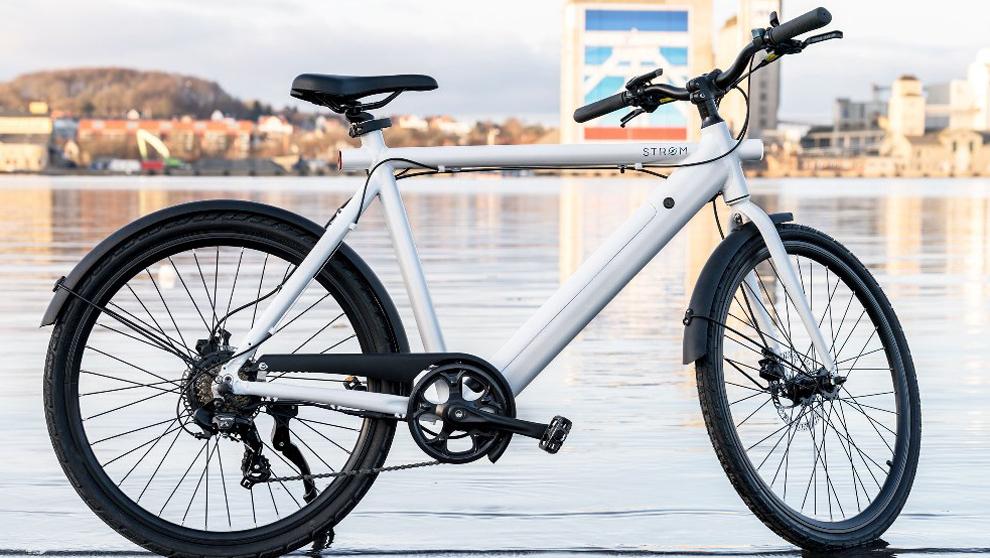 STRØM City, la bicicleta eléctrica que no lo parece por esconder las ...