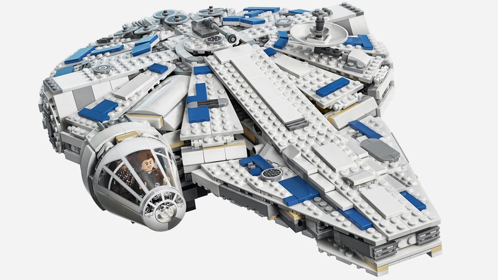 La nave de Star Wars rediseñada por LEGO.