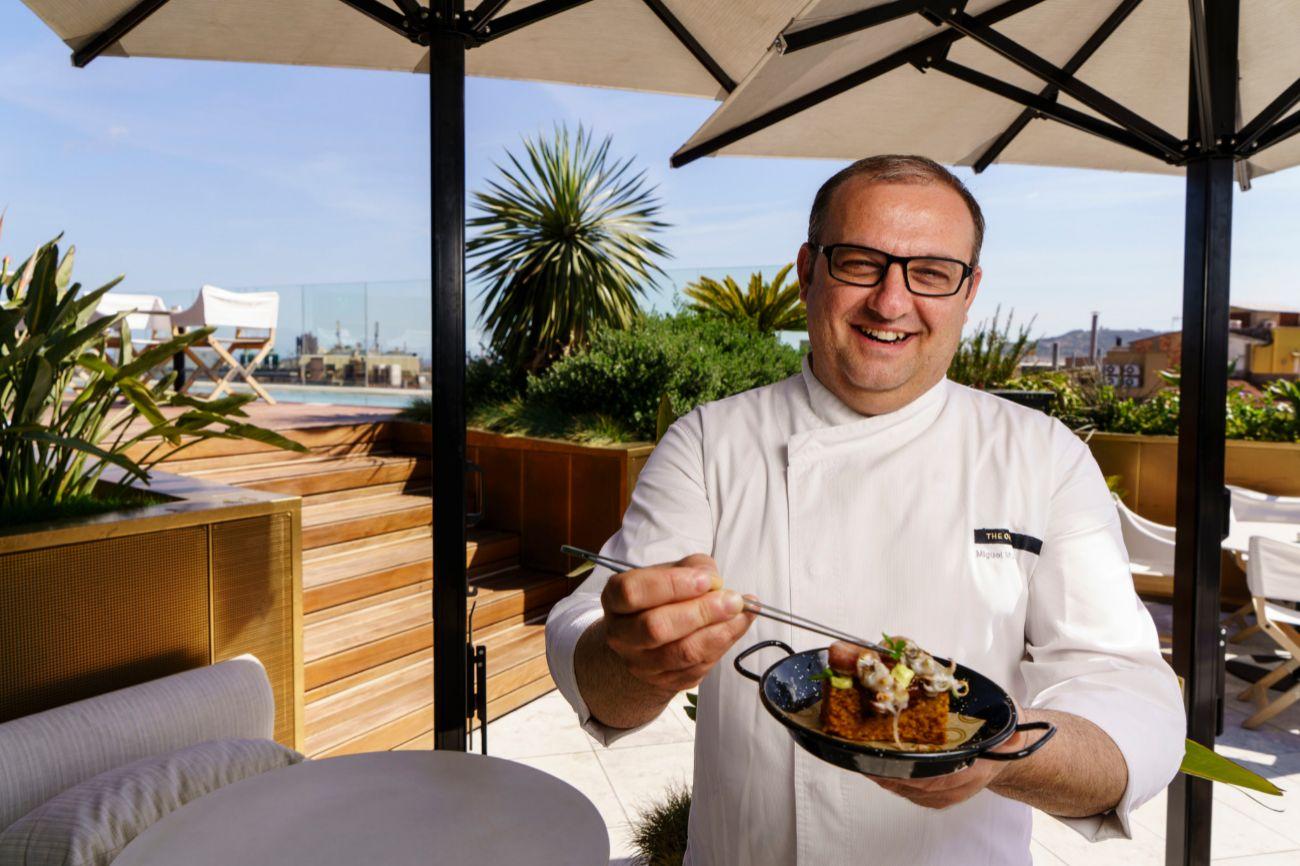 The One Barcelona - Somni Restaurant & Mood Rooftop Bar. Carrer de Provenza, 277. L - D: 13:00h - 23:00h. Armonía: Vino blanco. Precio: 8 euros.