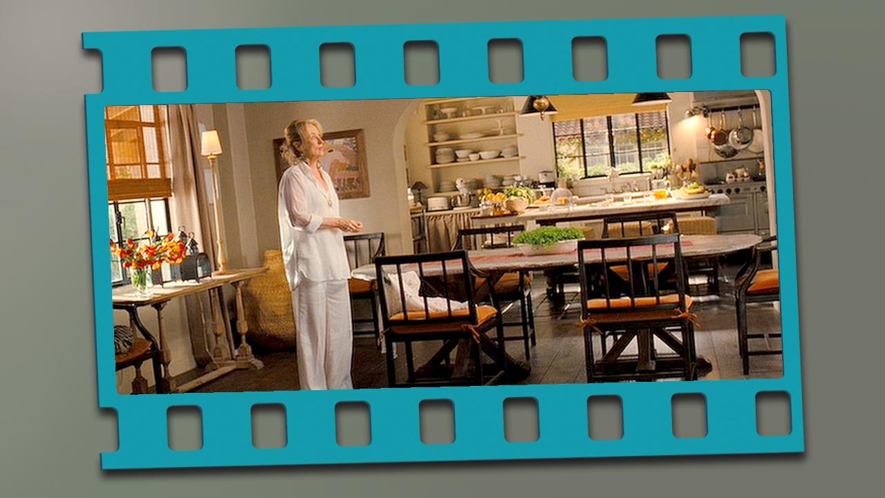 En esta cocina la actriz se replantea qué hacer con su vida después...