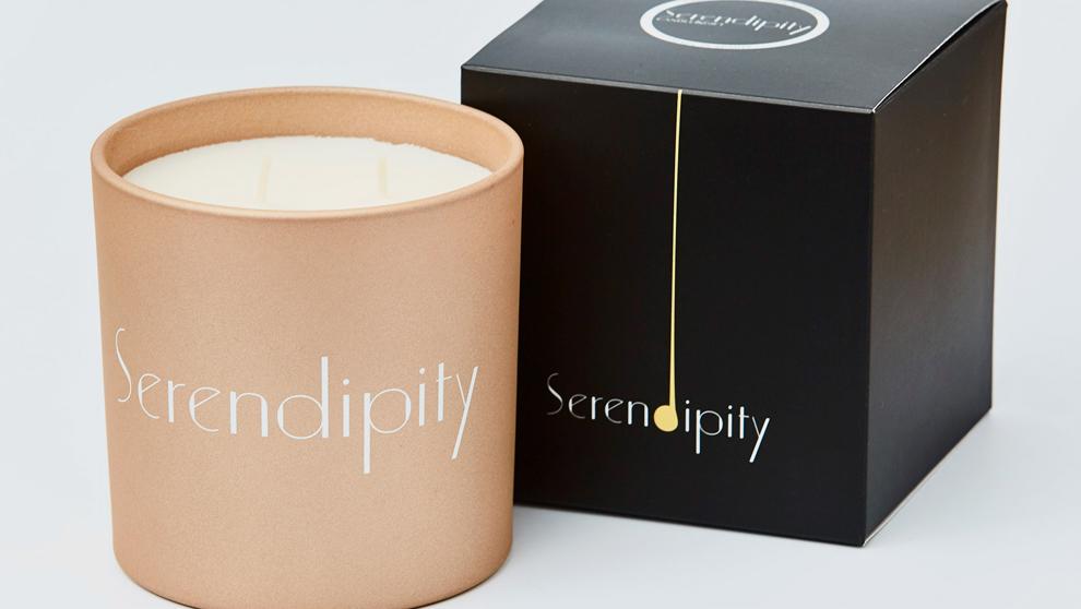 La primera vela española premium. Serendipity.