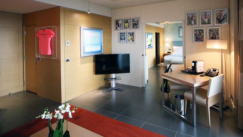 El hotel Monte Carlo Bay Hotel & Resort nombra su suite 1029 como:...