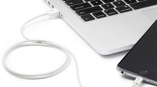 Cable de conexión para iPhone de Amazon