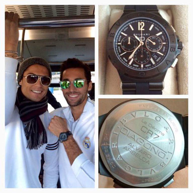 Un reloj de Bvlgari valorado en 8.000 euros. Es el detalle...
