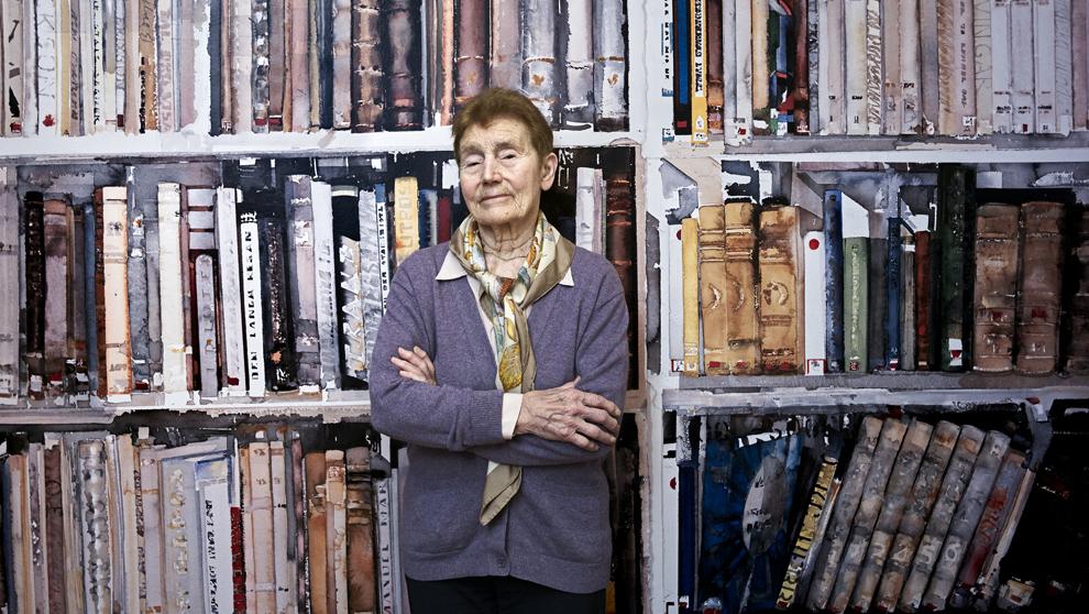 Nieta de Marie Curie, Hélène Langevin-Joliot, 90 años, en el Museo...
