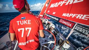 El neozelandés Blair Tuke, vigente campeón olímpico y de la Copa...