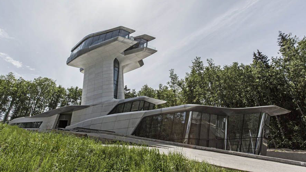 La Residencia Capital Hill diseñada por Zaha Hadid a petición del...