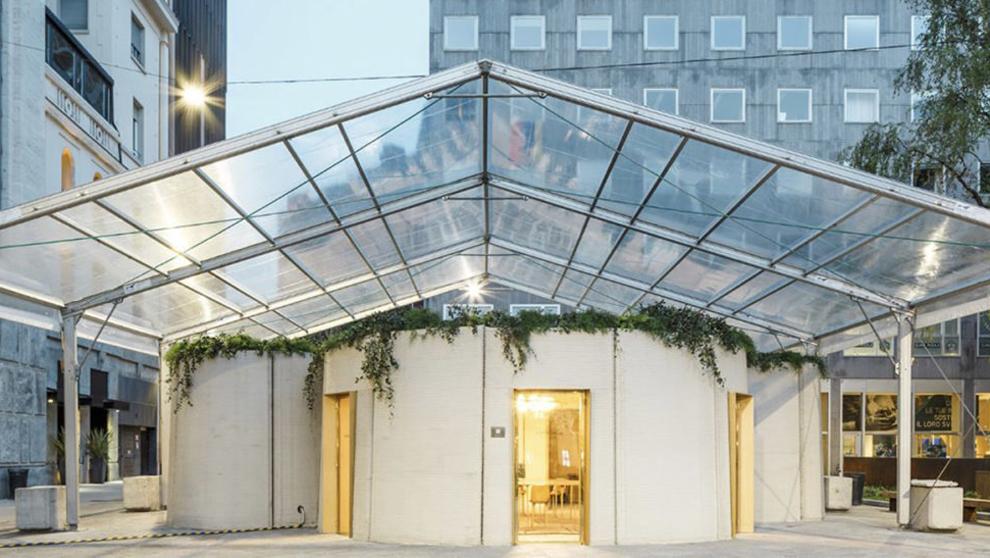 3D Housing 05 diseñada por Arup y CLS Architetti y expuesta en el...