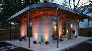 Arup y CLS Architetti crean una casa real impresa en 3D con un robot y...
