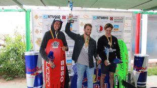 Mauricio Weppert, Alejandro Climent y Carlos Puig. | Formula Kite...