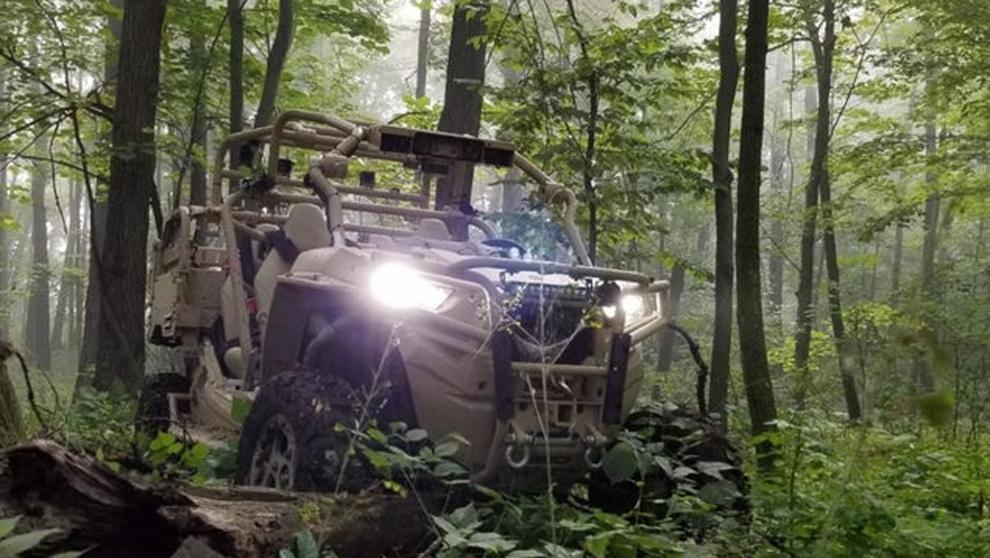 """UTV o """"Utility Task Vehicle"""" de la empresa Polaris."""