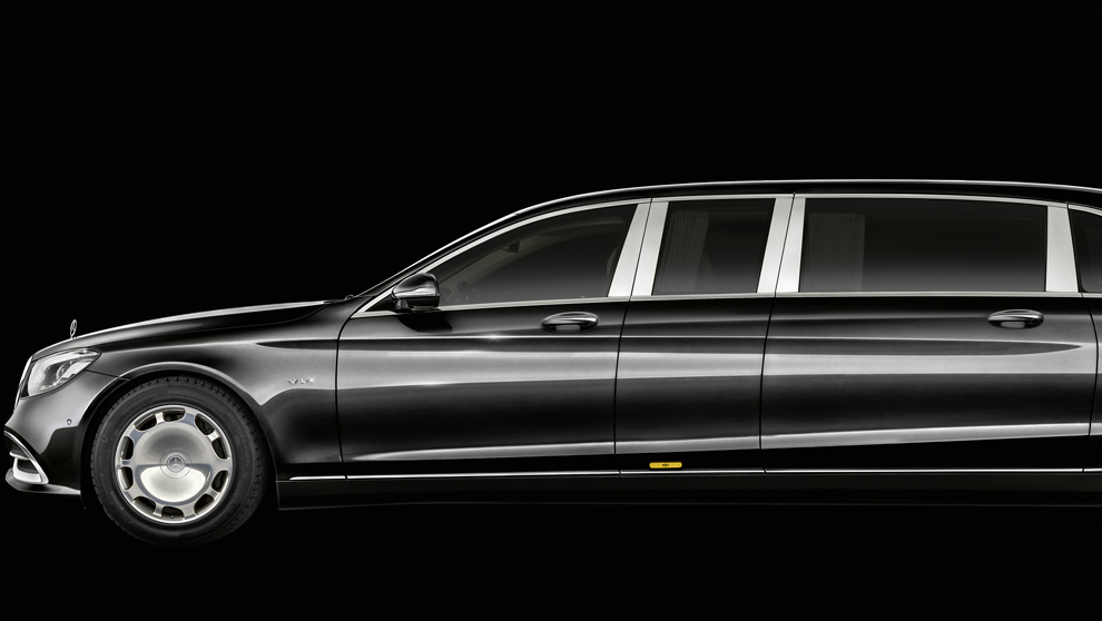 El Mercedes Maybach Pullman S 650.