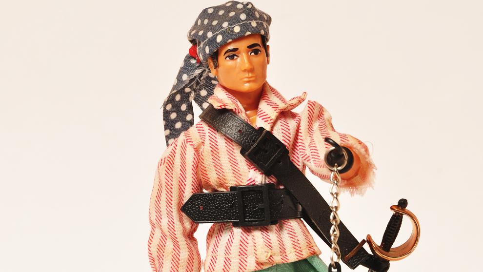 Madelman pirata, fabricado entre 1974 y 1983, tiene una prótesis de...