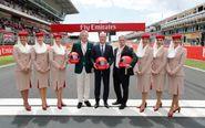 La aerolínea patrocinará la Fórmula 1 hasta 2022.