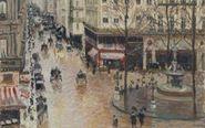 """Imagen del cuadro """"Calle Saint Honoré, a media tarde, efecto de..."""