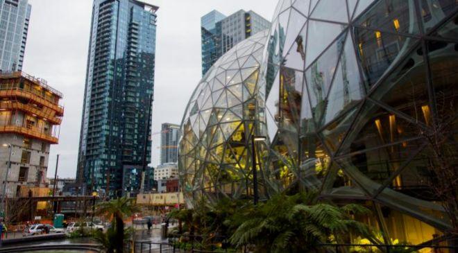 Imagen de las nuevas oficinas de Amazon en Seattle.