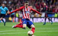 El delantero del Atlético de Madrid Fernando Torres.
