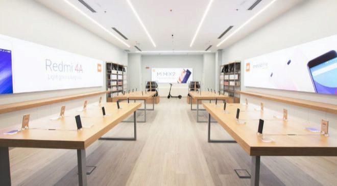 Tienda de Xiaomi en el centro comercial Madrid Xanadú