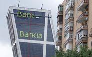 Sede de Bankia en la Plaza de Castilla, en las Torres Kio.